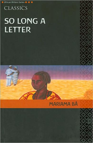 So long a letter by Mariama Ba | Under the neem Tree