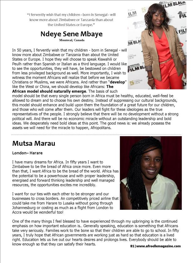AfroElle Afropolitan Issue - 2013 Pg 17