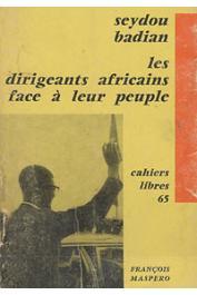 Les dirigeants africain:-Seydou Badian